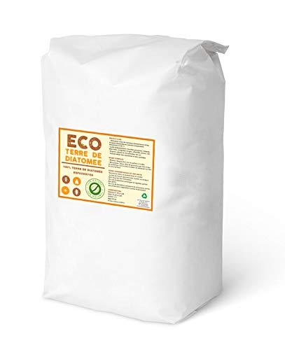 ECO Terre de Diatomee 25kg | Non Calcinée | Alimentaire E551c | 100% Naturel et écologique | Naturel Contre Les Insectes