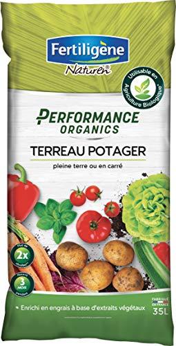 FERTILIGENE Terreau Potager Performance Organics, 35L