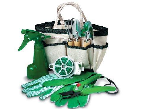 Fiori a Righe Set de jardinage 18x 15x 11cm Idée cadeau élégant accessoire de jardin cadeau pour chaque événement
