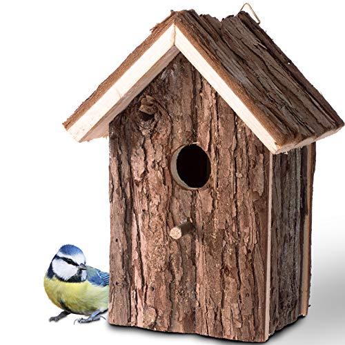Gardigo – Nichoir à Oiseaux; Maison, Nid pour Oiseaux, Moineau, Mésanges en Bois, Extérieur; Décoration Jardin, Terrasse ou Balcon