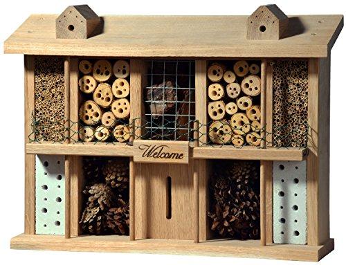 Luxus-Insektenhotels 22639e Gasthof zur Freundlichen Eule Hôtel à Insectes avec Fonction Photo/vidéo d'insectes, Pied, Bar à Insectes, Livre de Recettes
