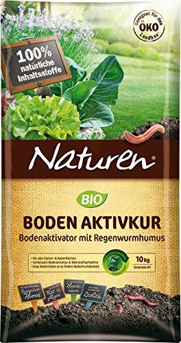 NATUREN Bio Bodenaktivkur Activateur de Sol Naturel pour améliorer la fertilité du Sol avec Un Humus Riche en nutriments…