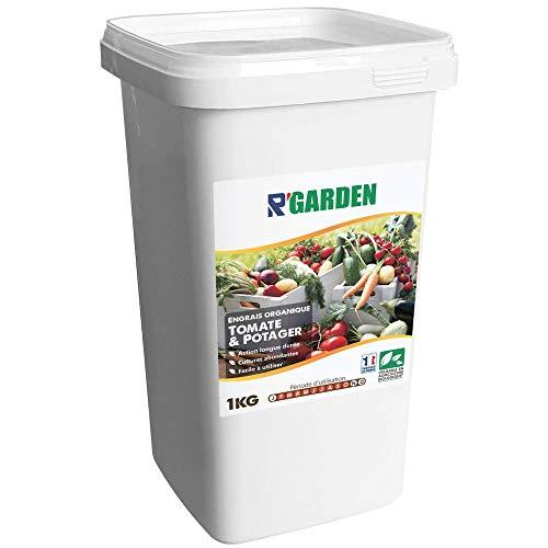 R'Garden | Engrais Organique Mixte Tomate et Potager | Engrais Ecologique | Fertilisant Naturel | Nourrit en Profondeur | Facile d'Utilisation | 1KG