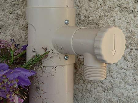 Recupérateur d'eau Sable + 1 Mètre Tuyau Souple