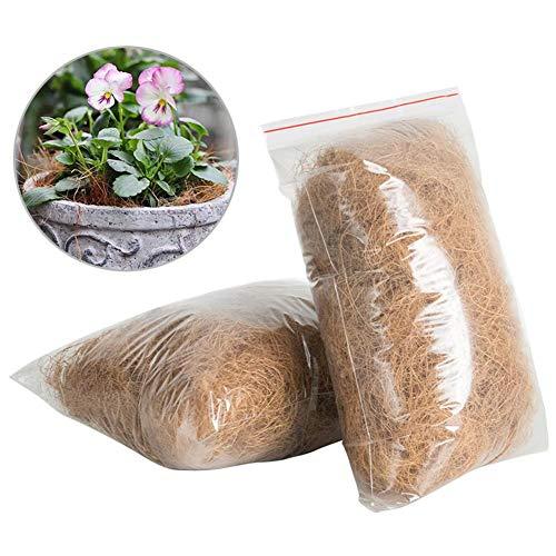 Sanmubo Trading Paillis Naturels de Fibre de Coco Couverture Végétale pour Le Soin des Plantes de Jardinage et des…