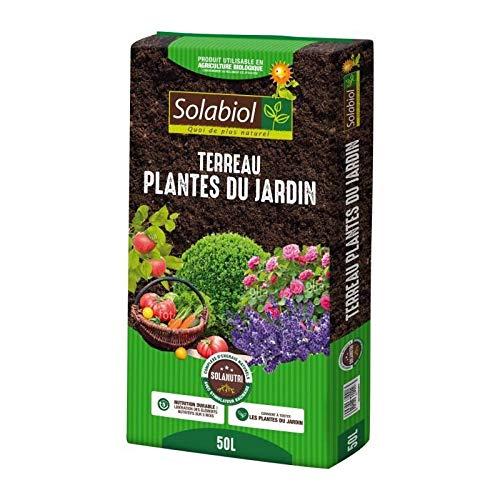 Solabiol – Terreau Plantes du Jardin – Sac 50 L – UAB