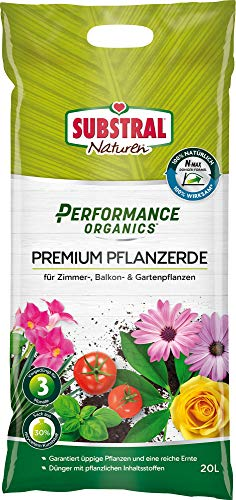 Substral Performance Organics Terreau pour plantes Vert