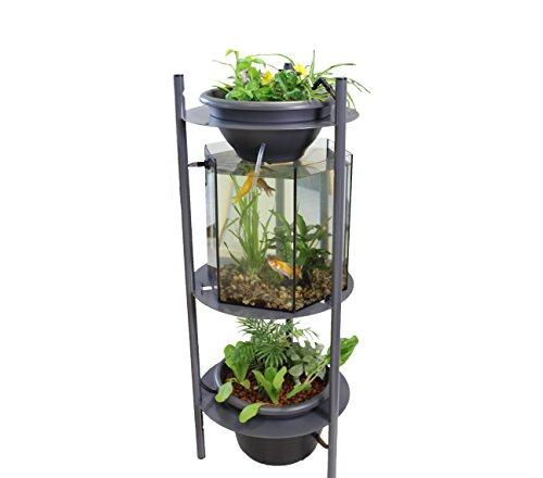 Urbanleaf Aquarium Aquaponie Symbium 120, Jardin d'intérieur, entretien facile