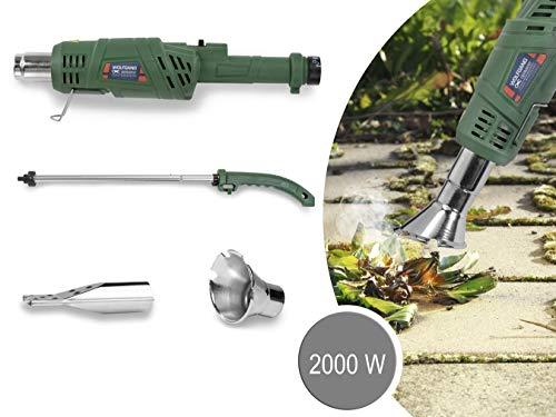 WOLFGANG Brûleur de Mauvaises Herbes 2 en 1, Desherbeur électrique, Allume Barbecue, sans gaz ou Produit Chimique, 2000…