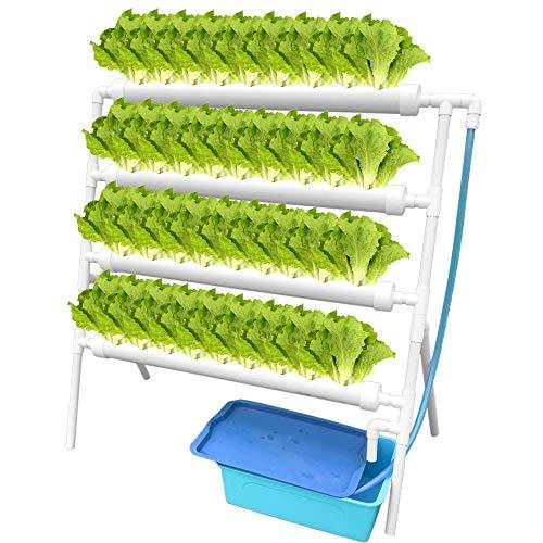 ETE ETMATE Kit de Culture hydroponique pour légumes, légumes Verts à Salade, Fleurs et Fruits Pipe hydroponique en PVC…